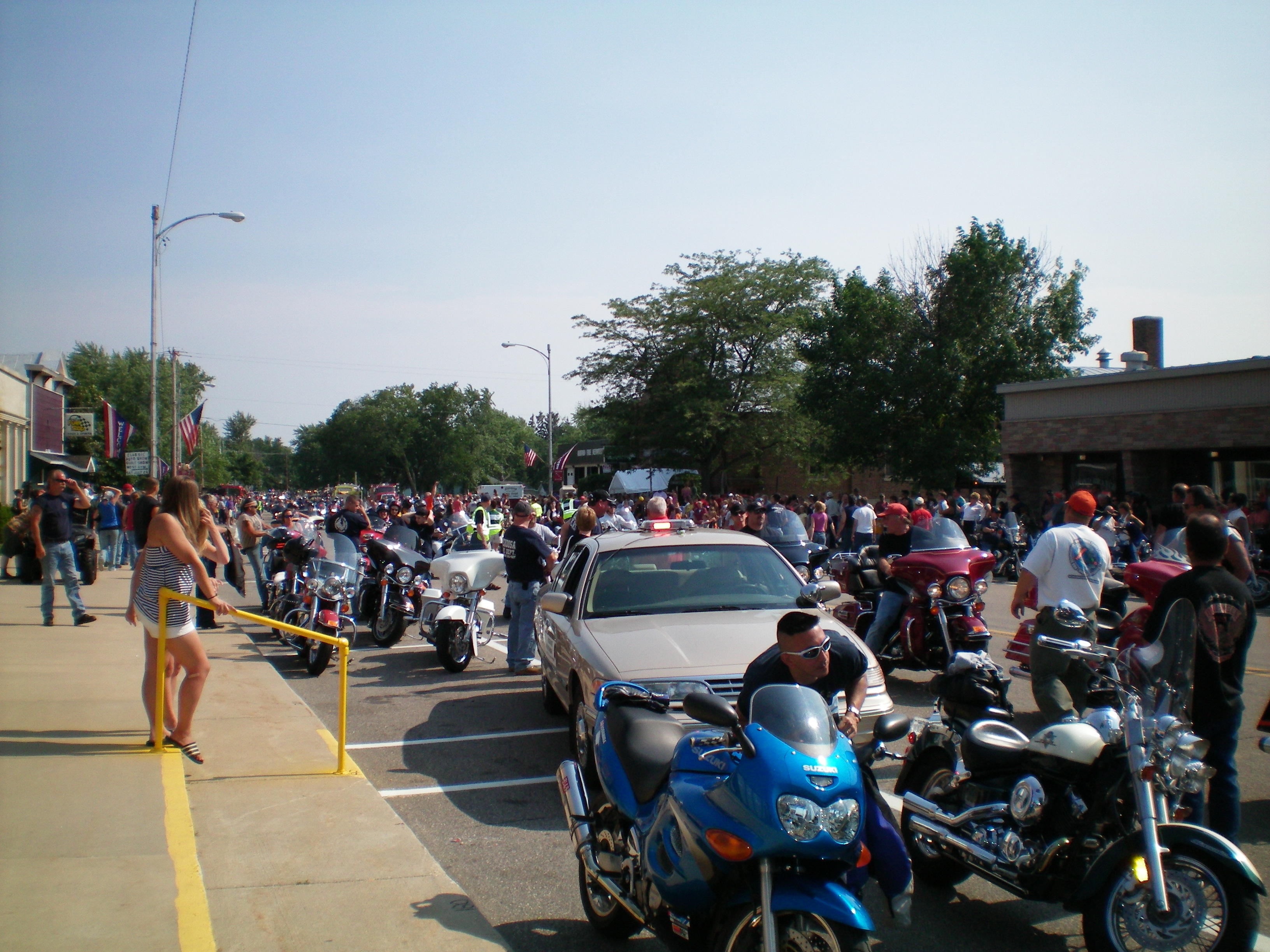 Riders in Almond, WI.  2008