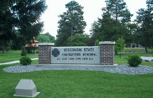 Wisconsin State Fire Fighters Memorial Entrance
